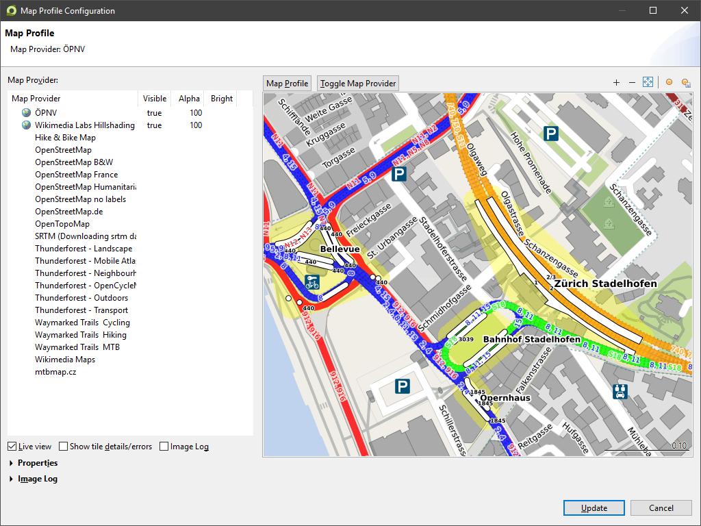 2D Map Provider - MyTourbook