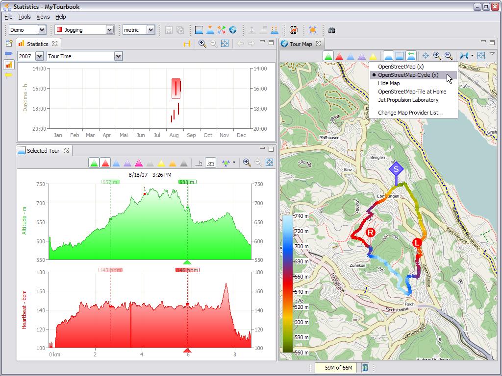 GpsPasSion Forums - Run a Garmin GPS fitness device under Linux