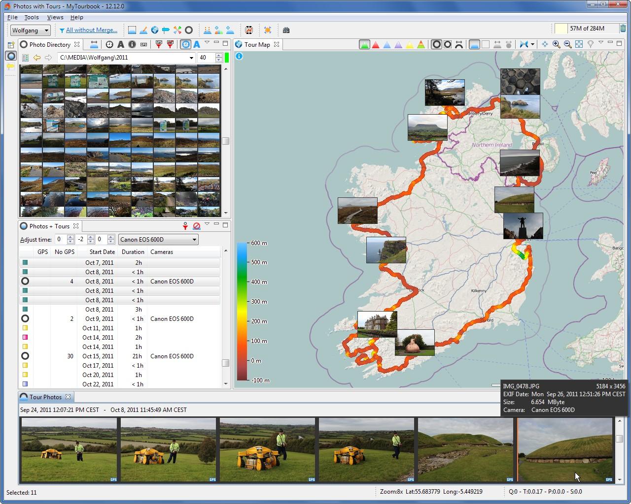 MyTourbook 64-bit screenshot